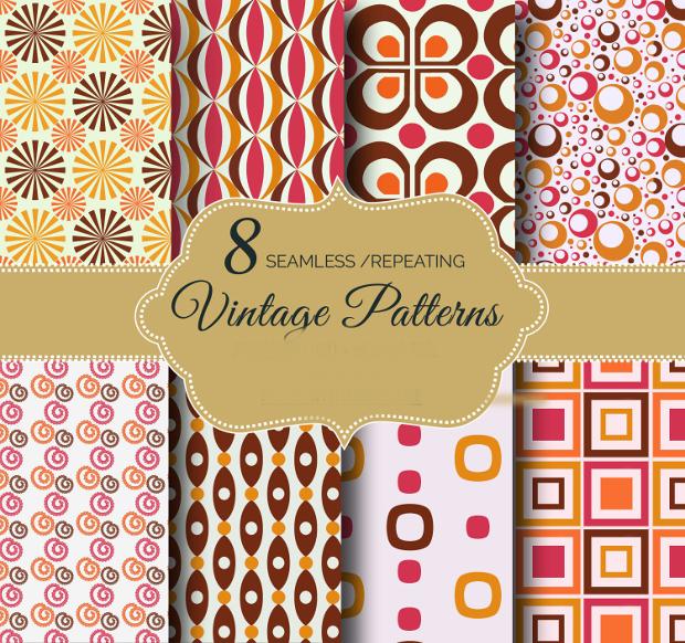 Vintage Repeating Patterns