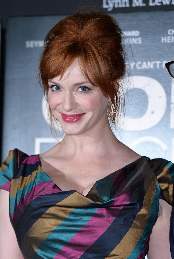 Christina Hendricks Retro Inspired Bouffant Hairstyle