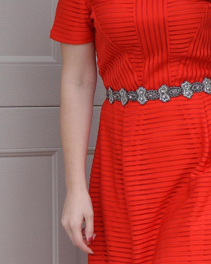 lovely beaded belt design