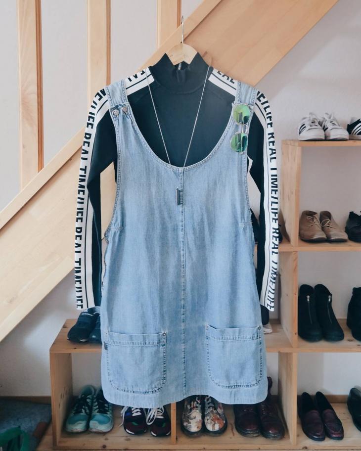 Girls Dungaree Dress Design