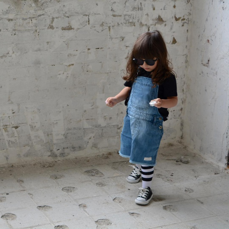 dungaree outfit for children