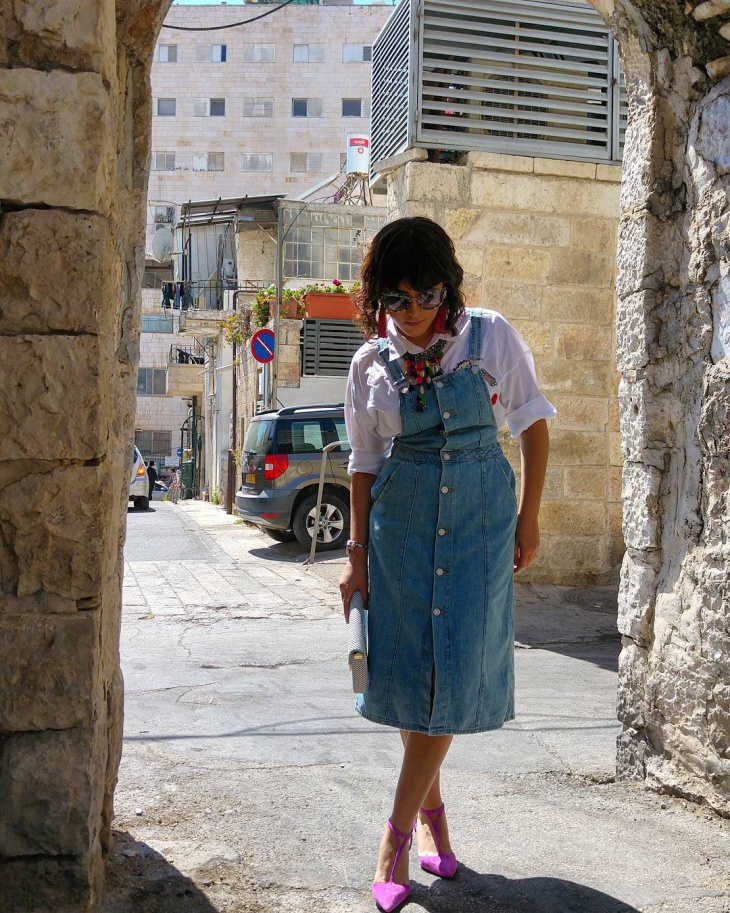 Old Fashioned Dungaree Outfit