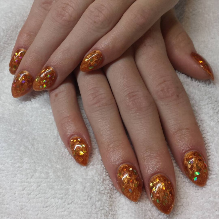 short talon nail art