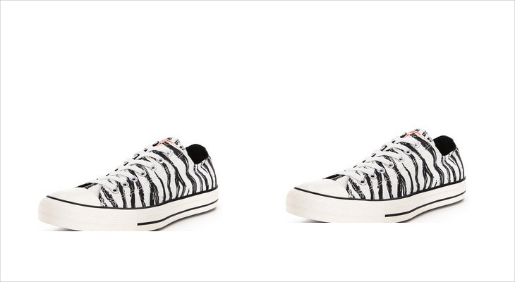 Converse Zebra Print Sneakers