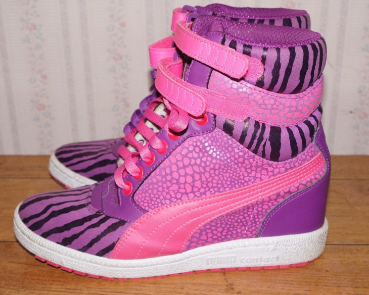 Puma Zebra Print Sneakers
