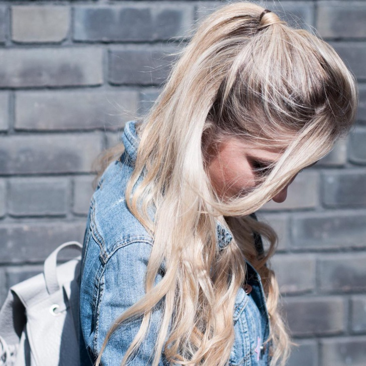 awesome thik haif ponytail