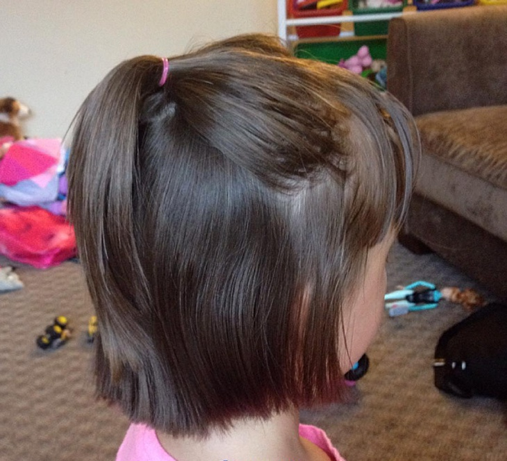 Cute Half Ponytail for Kids