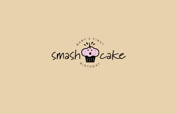 Smash Cake Logo Design