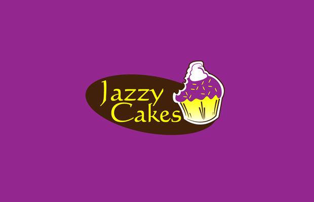 Jazzy Cake Logo Design