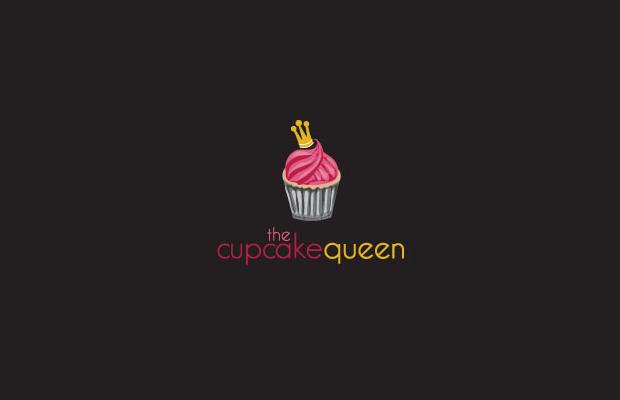 Pink Cupcake Queen Logo
