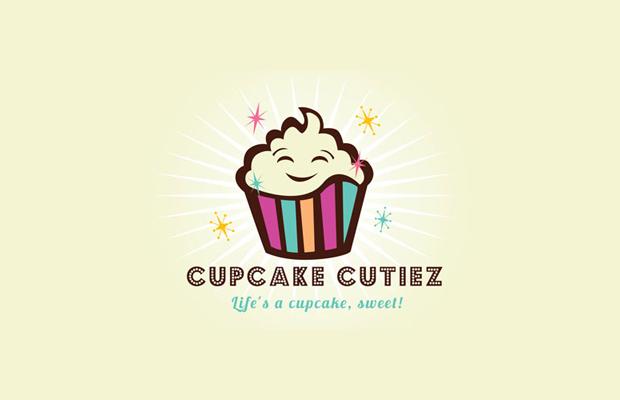 Cupcake Cutiez Logo Design