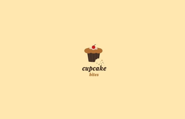 Cupcake Bites Logo Design