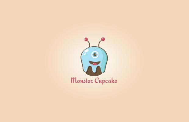 Monster Cupcake Logo