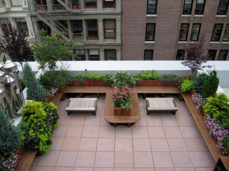 Rooftop Garden Ideas Part - 20: Roof Deck Garden Idea