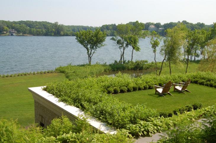 lake view roof Garden idea