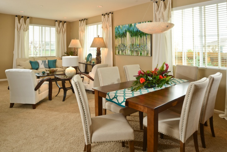 coastal living dining room