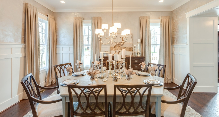 Coastal Dining Room Designs