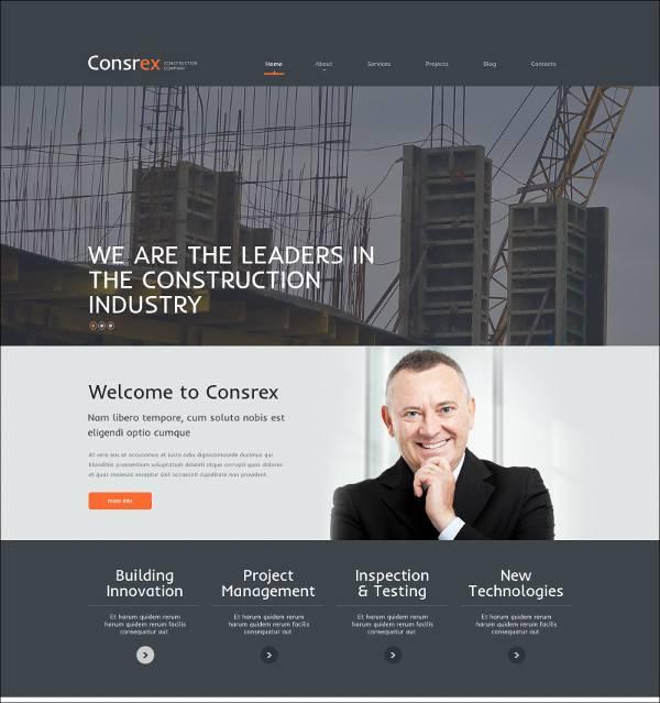 Building Company WordPress Themes