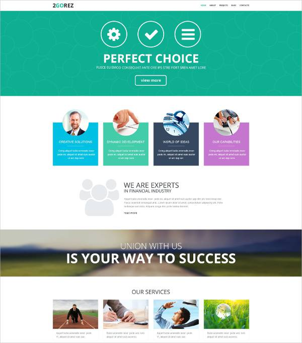 reliable financial advisor wordpress theme2