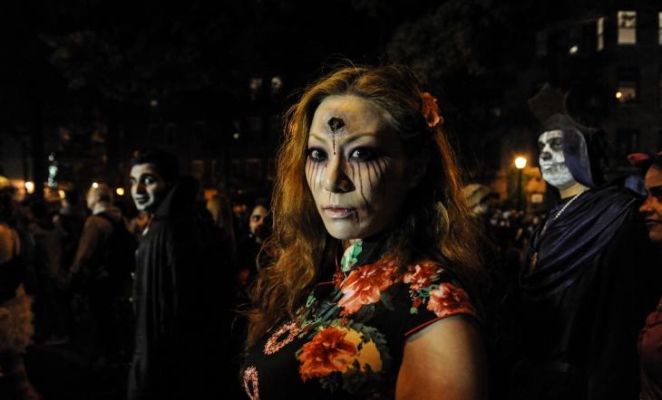 Evil Puppet Makeup