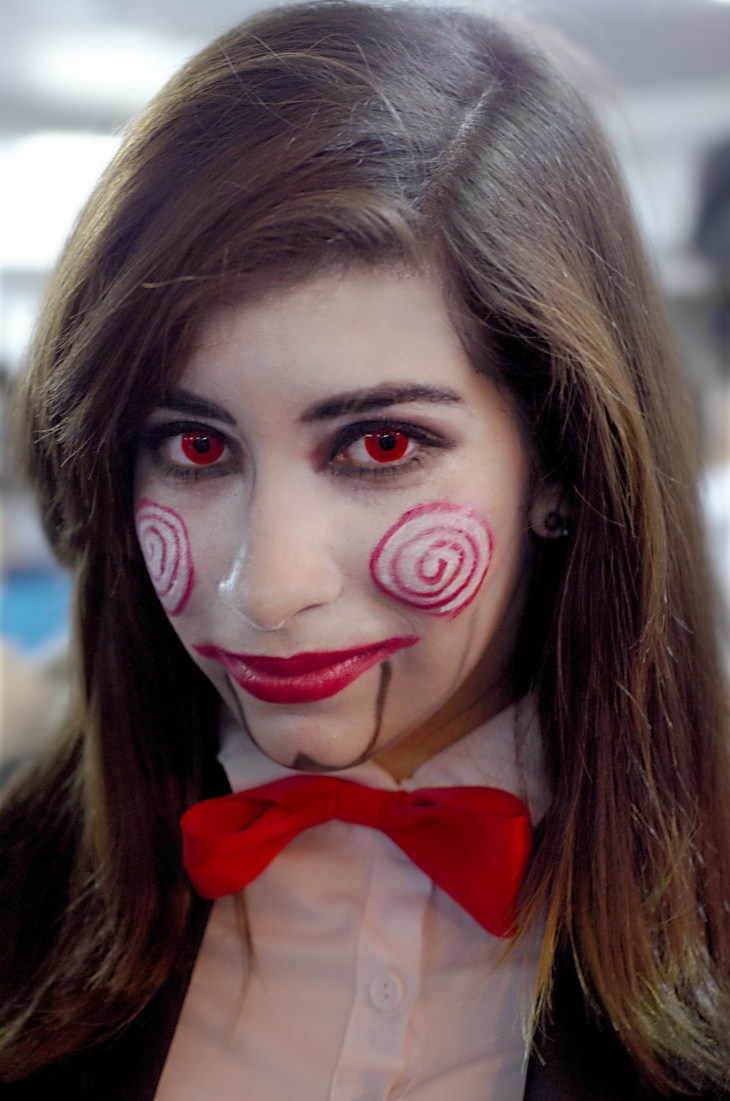 Billy Puppet Makeup