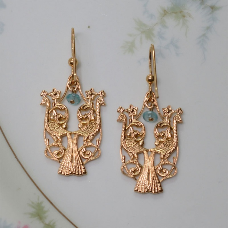 unique bridal earrings idea