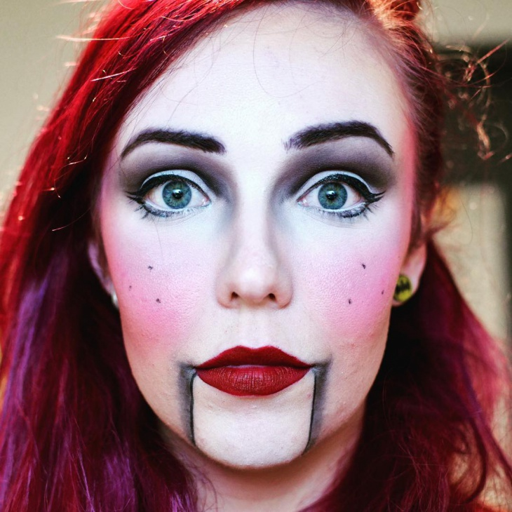 Crazy Puppet Makeup