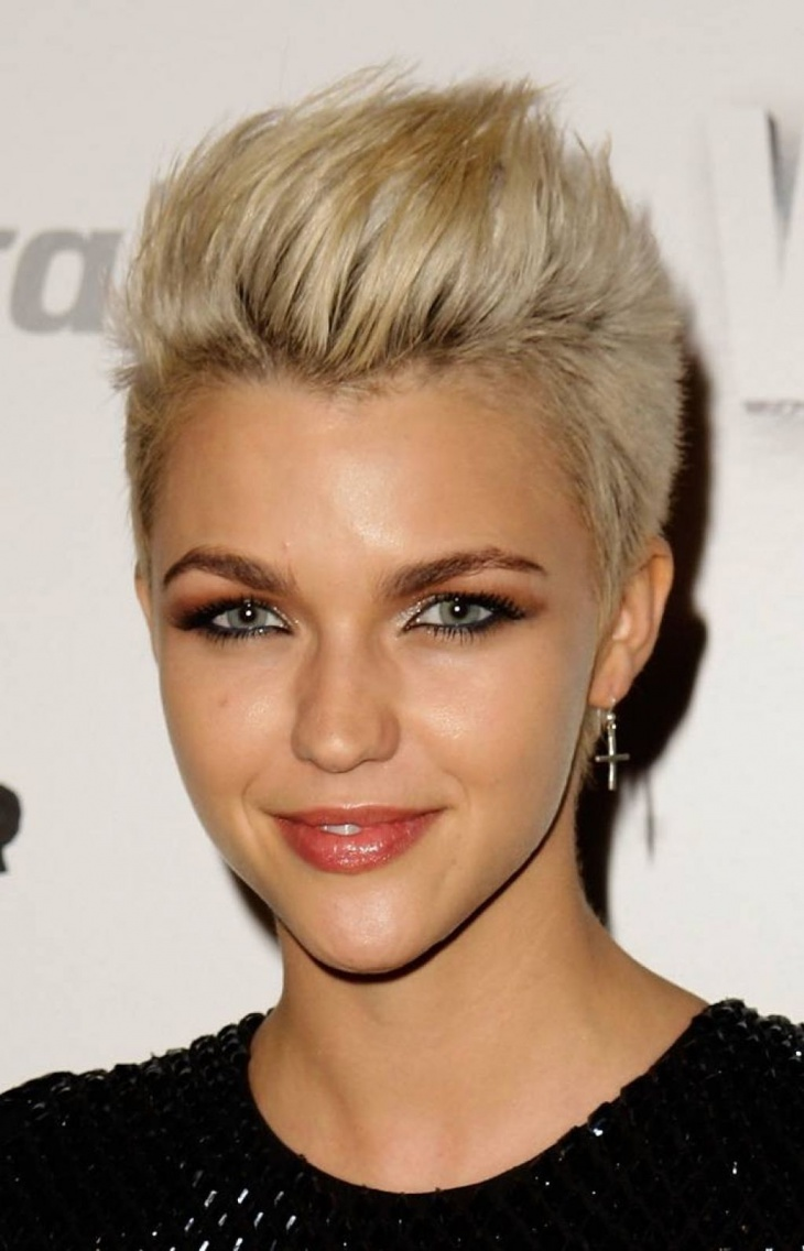 Ruby Rose Short Punk Hairstyle