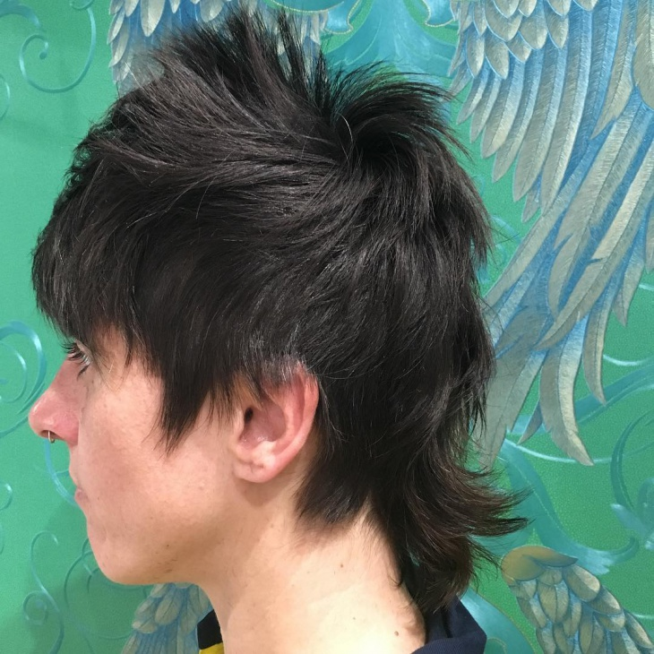 Cool Punk Haircut for Men