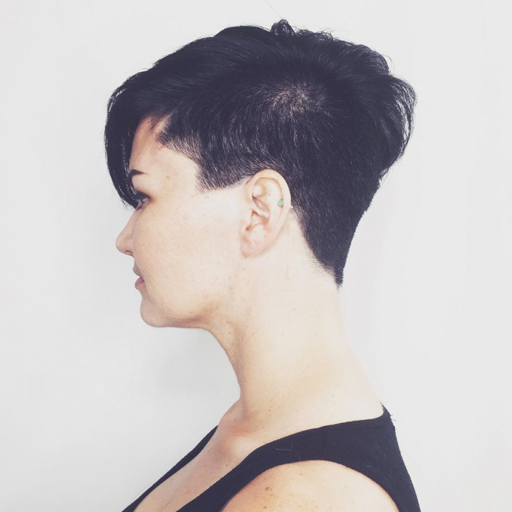 Short Undercut Punk Hairstyle