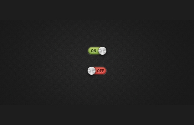 free toggle on and off switch psd