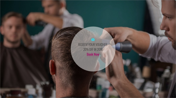 retina ready hair salon wp responsive theme full screen