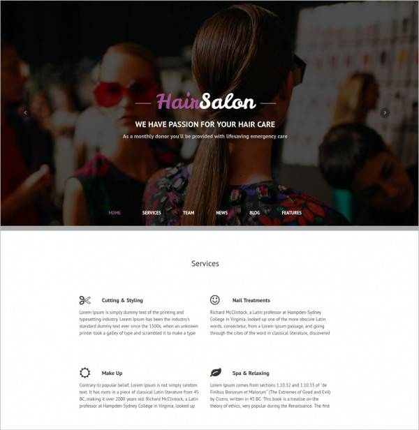 hair salon wordpress theme3