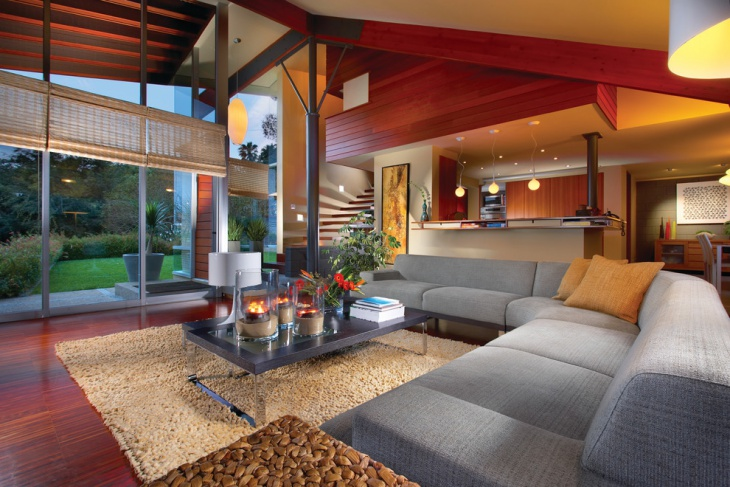 tropical interior living room decorating also hardwood ceiling style | 21+ Tropical Interior Designs, Ideas | Design Trends ...