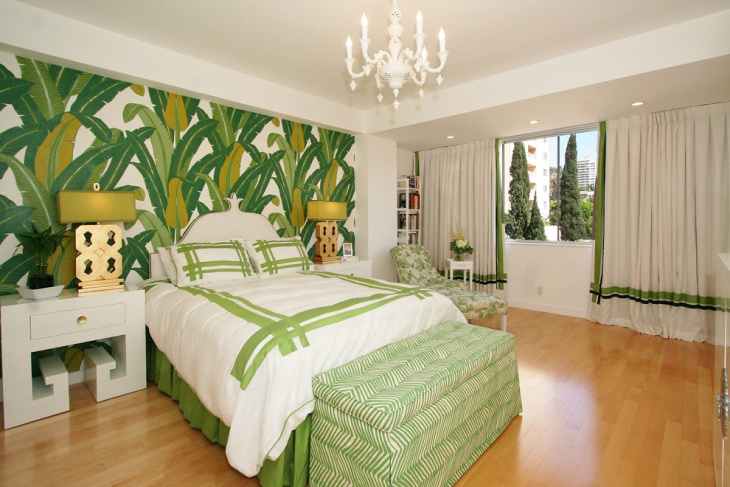 Modern tropical decor