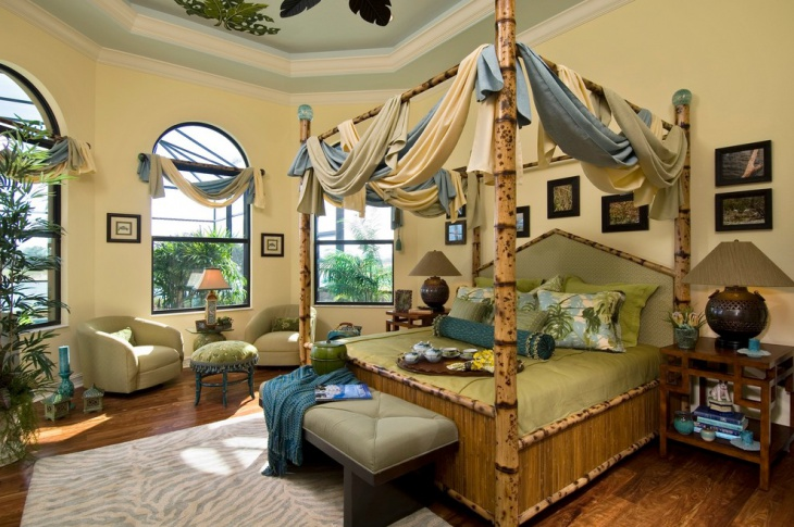 Traditional Bedroom Decorating Idea