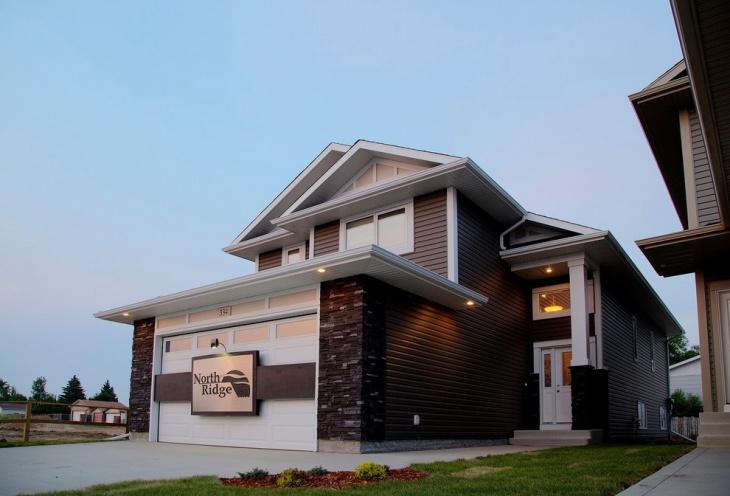 modern tropical house exterior