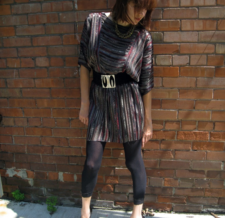 Retro Style Batwing Outfit