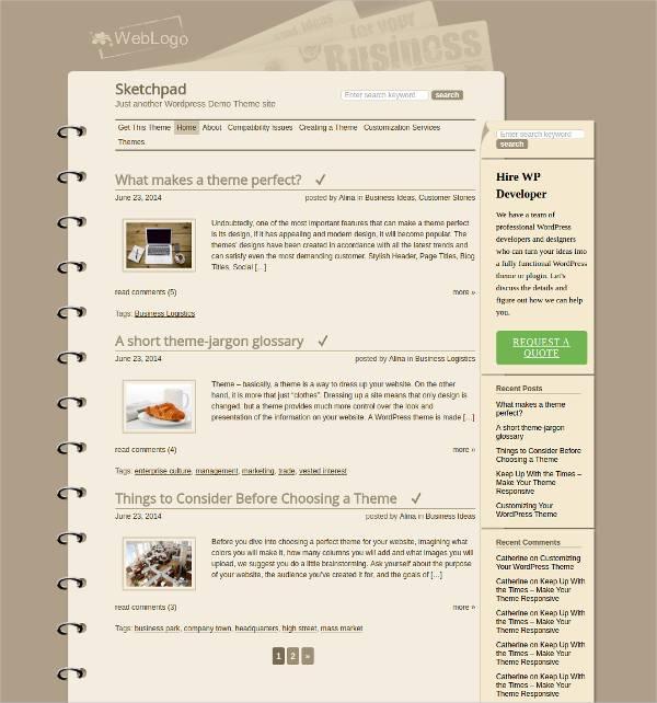 Responsive Multi Concept Book Shop WordPress Template