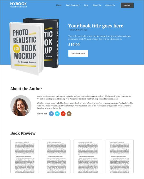 Publisher WordPress Template