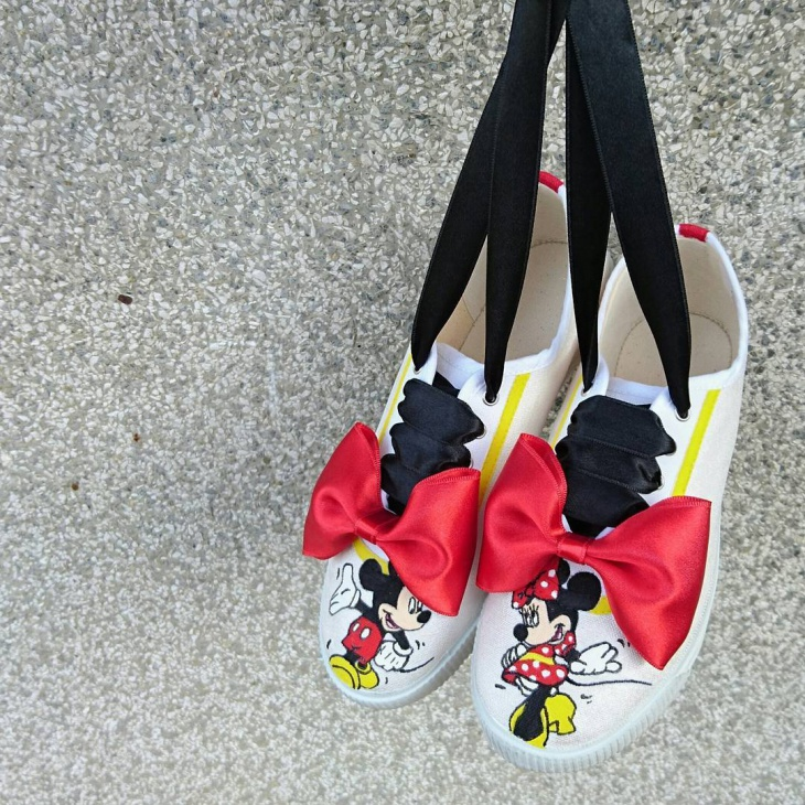 Kids Cartoon Sneakers Idea