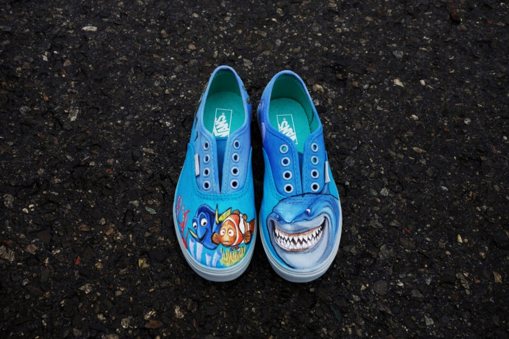 Finding Nemo Shoes Design