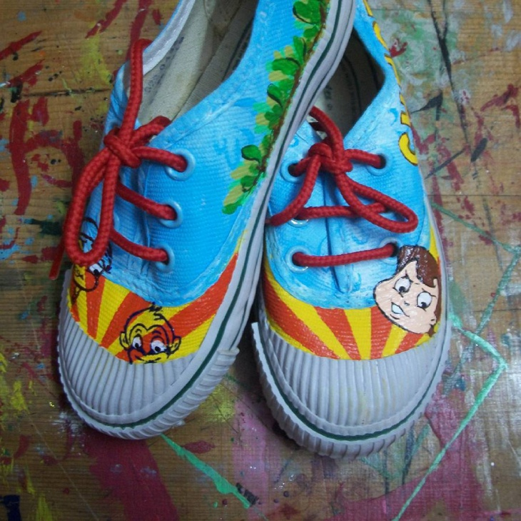 Chottabheem Cartoon Sneakers