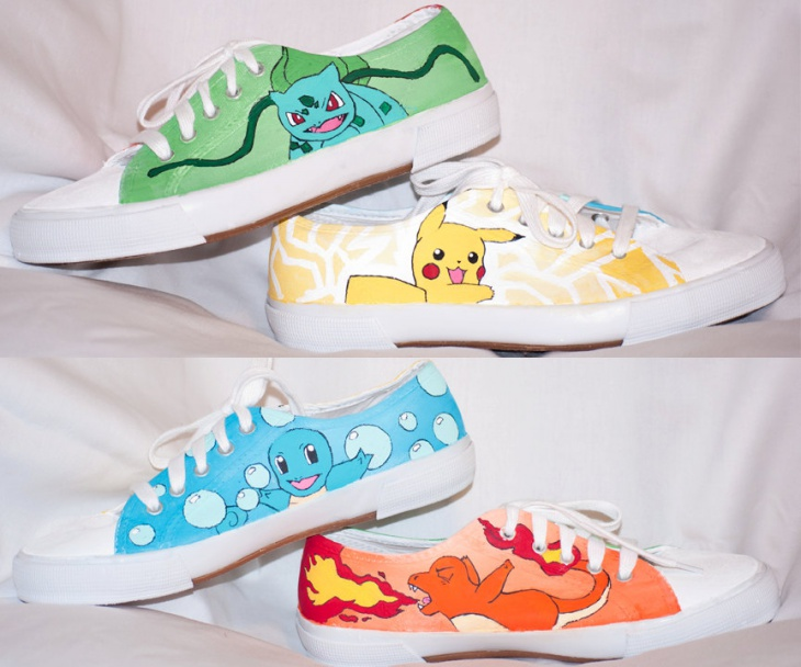 Anime Theme Shoes Idea