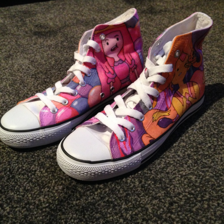 Unisex Cartoon Shoes Design