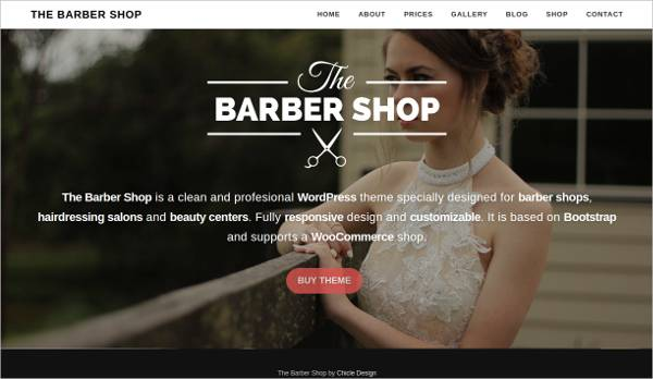specially designed hair salon responsive wp template1