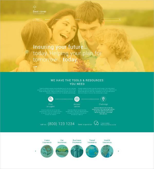 Insurance WordPress Theme