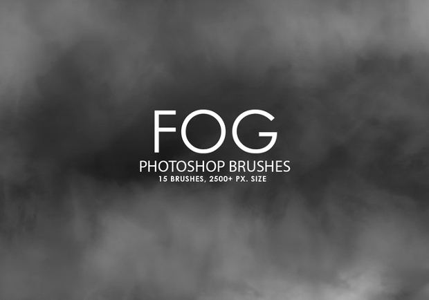 high quality fog brushes set
