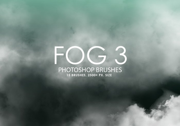vector photoshop fog brushes