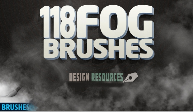 digital fog brush set